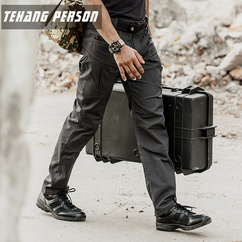 Area 7 IX8 Reprimand Tactical Trousers Male Spring and Autumn Outdoor Training Leisure Workwear Slim Multi-pocket