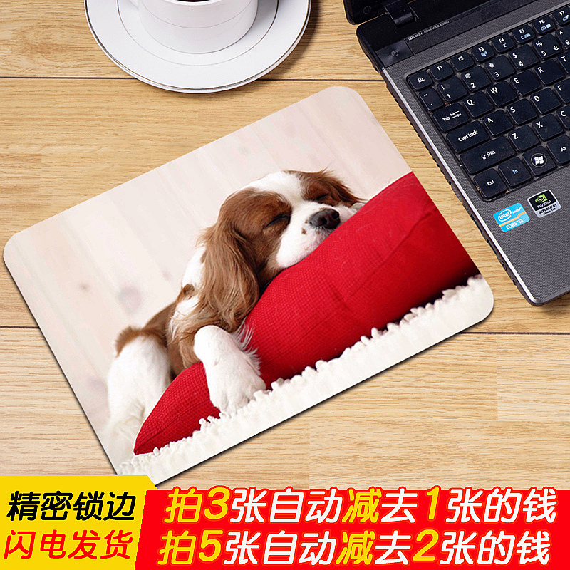 Custom-made computer super-large notebook game creative Alien animation office male small student keyboard mat desk mat electronic competition thick mat