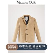 Massimo Dutti garçons coton texturé blazer 02001658710