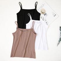 Modal camisole vest female short slim slim large size coat spring summer with students black base shirt