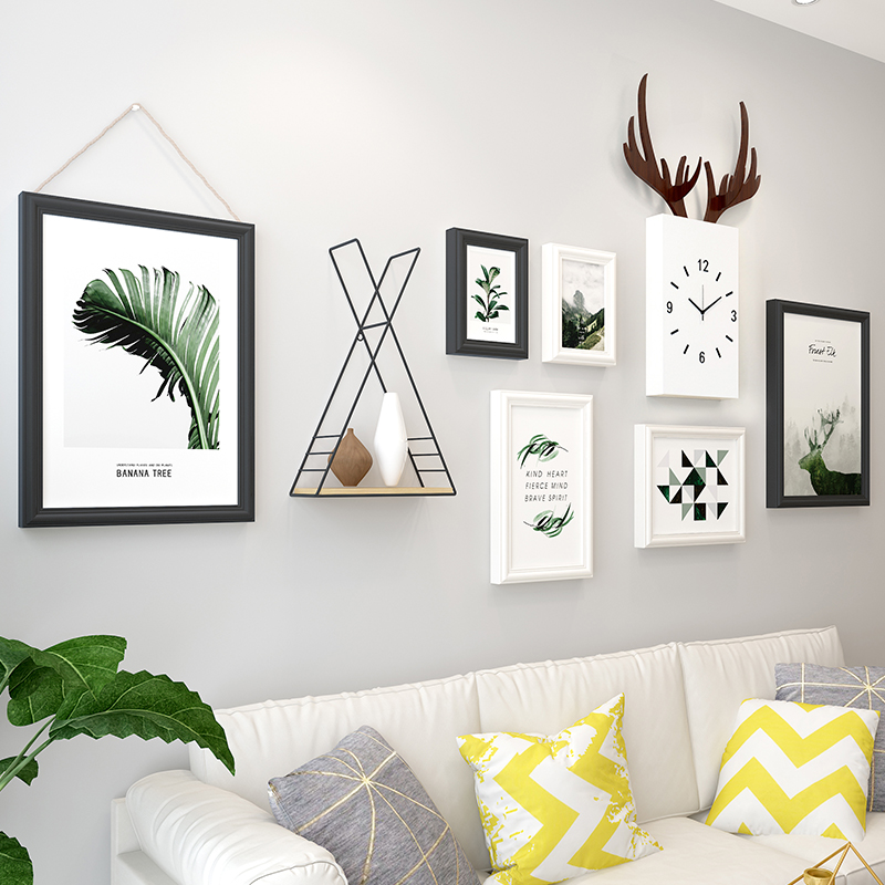 Creative Nordic living room background wall decoration ins room wall hangings interior decoration ornaments deer head wall hangings