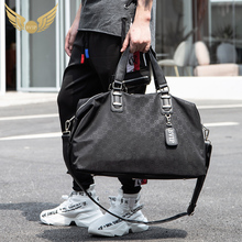 Bvip net red travel bags men carry large capacity short-distance travel boarding bags fitness bags