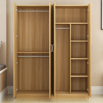 Clothes chef g home simple assembly solid wood-paneled bedroom cabinet rental dormitory childrens simple coat
