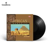 World music African impression light pure music LP vinyl record turntable gramophone special large disc