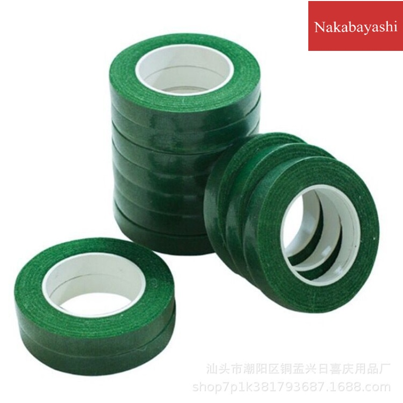 Simulation floral glue green paper tape hand-dly material rose bouquet wire tape