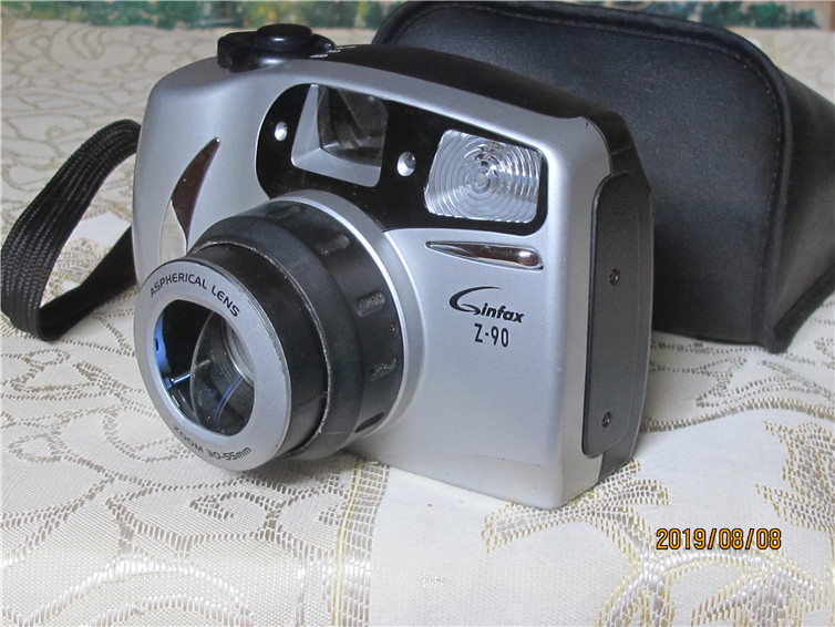 The Z-90 glue camera mainly functions normal old-fashioned camera Ginfax nostalgic collection bag old true