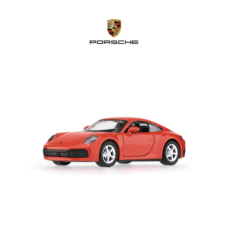 (Official) Porsche 911 1:43 Model Return Car Simulation car model