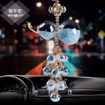 Car pendant goddess web celebrity car hanging accessories South Korea creative lovely gourd atmosphere car hanging accessories