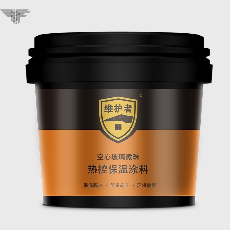 Roof sunscreen exterior wall roof insulation paint reflects insulation paint color steel tile cooling waterproof paint