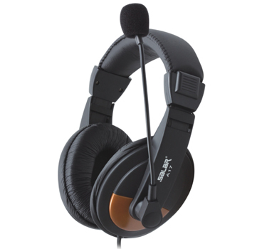 Salar/ Salar A17 Headphones with Stereo Headphones with wheat game High-quality PC Headphones with Headphones