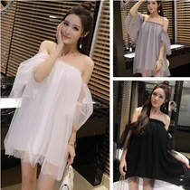 Summer word lead women wear commuter summer single petite new short Korean version of the small clothes dress