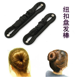 Cloth button tip hair stick wrinkle cloth flower flower head hair plate meat head hair bar hair plate hair