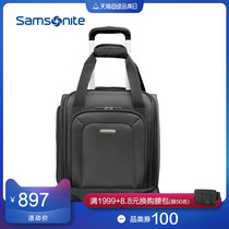 Samsonite Samsonite business trolley case lightweight soft box boarding box new shopping mall with 16-inch GE1