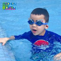 Stephen Joseph Little Stephen Cartoon Swimming Glasses Waterproof and Fog-proof High Definition Swimming Glasses