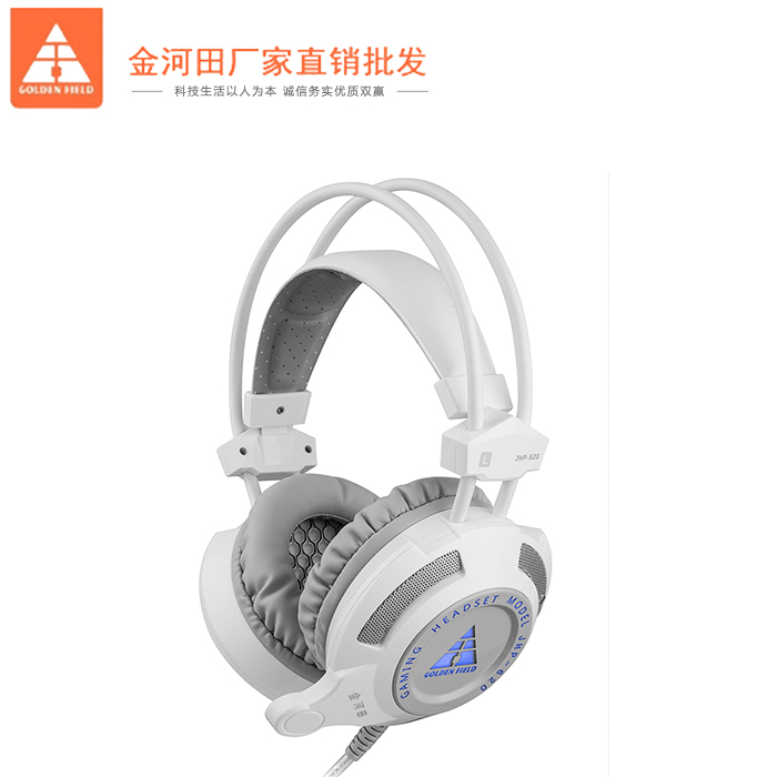 Chengdu Jinhetian computer headset wearable Internet Cafe Game headset with microphone heavy bass headset package