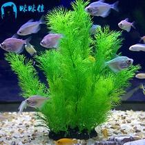 Fish tank decoration Aquarium landscape simulation water grass package fake seagrass landscape landscape footage fish grass