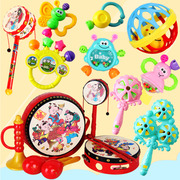 Baby toys 3-6-12 months 0-1 years old baby early neonatal rattle rattle tooth gum children puzzle