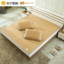 Ying Xin double-sided mat bamboo mat double mat solid color folding carbonized bed mattress air conditioning seats
