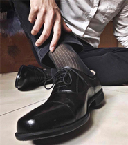 Mr. BJ Xu recommends the new mens business foreign trade stripe high-barrel TNT Japanese ultra-thin stockings