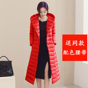 A thin jacket season long long Korean female knee slim slim Clubman size coat color