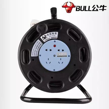 Genuine Bull Mobile Cable Disk GN-807 30m 50m Wireless Winding Wire Rolling Power Disk Cable Disk