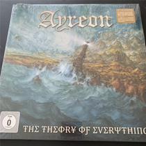 Deluxe Edition Big 册子 Ayreon The Theory Of Everything 4CD DVD Unopened DE]