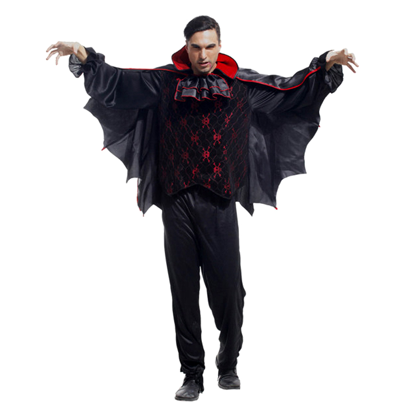 Halloween cosplay costume for adult male demons cosplay costume costume ball luxury bat Vampire Costume
