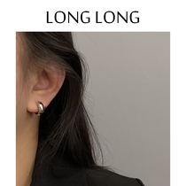 Cold wind ear ring earrings female temperament advanced sense mosquito coil ear clip without ear hole earring simple 2021 New