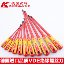 Germany K brand imported insulation small word Phillips screwdriver electrical insulation screwdriver screwdriver Screwdriver Tool