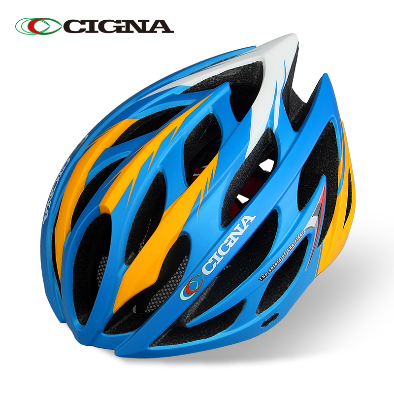 CIGNA bicycle helmet men and women integrated helmet dead fly road mountain bike riding helmet equipment