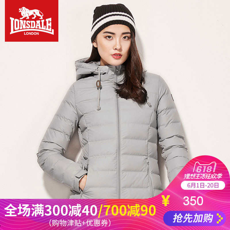 Dragon and Lion Dell Down Garment Female 2019 New Winter Thin Cap Short Warm Outdoor Down Garment Female