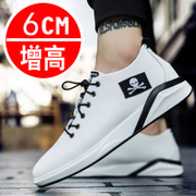 The fall of new shoes for men all-match Korean students white shoe shoes fashion shoes in winter