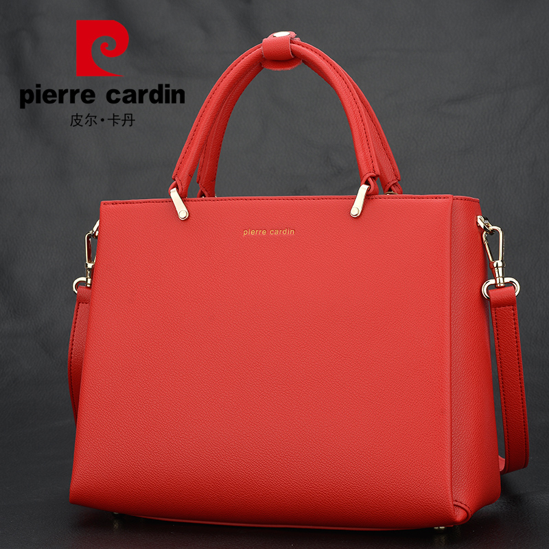 Ms. Pilcadan Handbag Leather 2019 New Brand Red Bag Fashion Single Shoulder Slant Bag