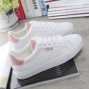 The fall of the new air all-match white shoe fashionable leisure shoes to help students low flat singles shoes