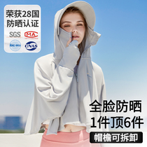 2021 new womens sunscreen clothing summer thin jacket UV-resistant breathable sunscreen clothing blouse ice silk cycling