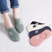 Socks socks children Korea cute socks invisible shallow mouth of autumn and winter ladies barrel pure cotton socks in winter, the wind