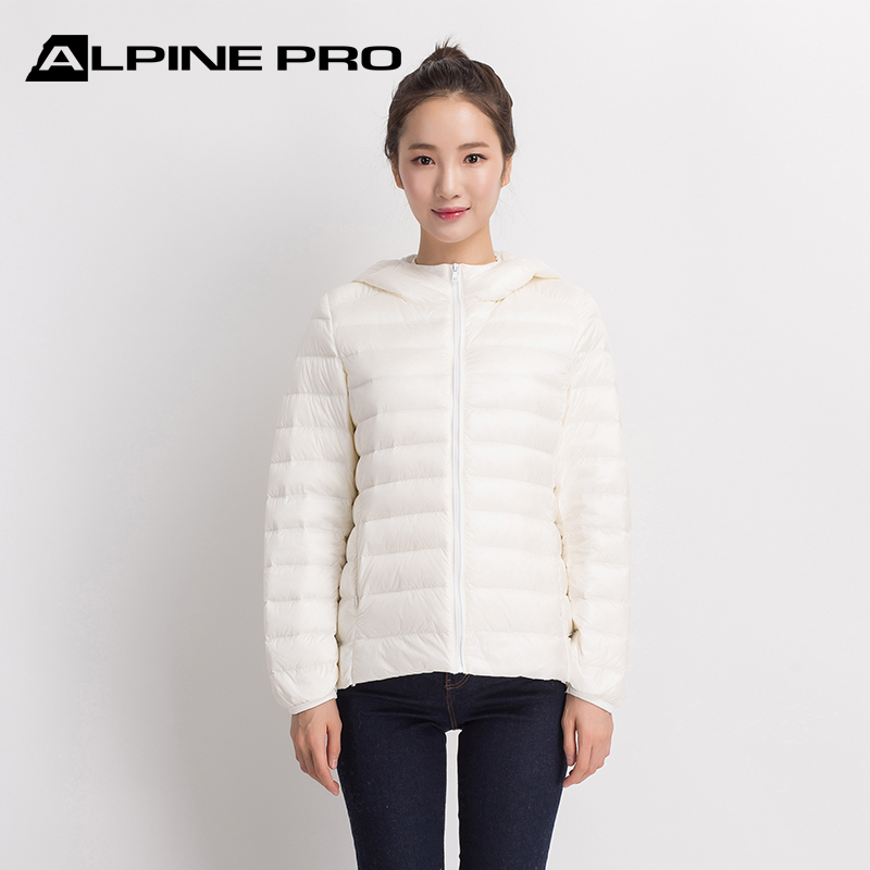 Ms. Alpini Alpine Pro's light down jacket for autumn and winter