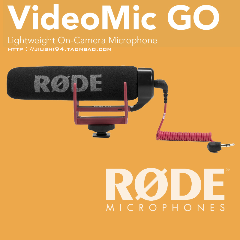 Rod RODE Directional Microphone RODE VIDEOMIC GO SLR Microphone