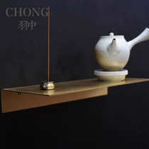 CHONG Yi Mini Brass Shelf with Extremely Home Wall Placement Shelf Wall Decoration Nordic Customized Size