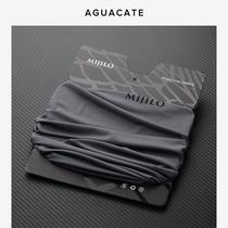 Анти-УФ лед шелк хиджаб шеи летний солнцезащитный крем нагрудник набор тонкий мужской велоспорт маска магия открытый полотенце