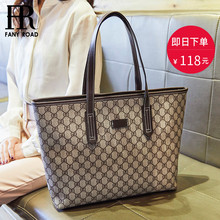 New Kind of Chaohua Version 2019 Simple Large Capacity Single Shoulder Bag Fashion Commuting Mother-and-Child Handbag