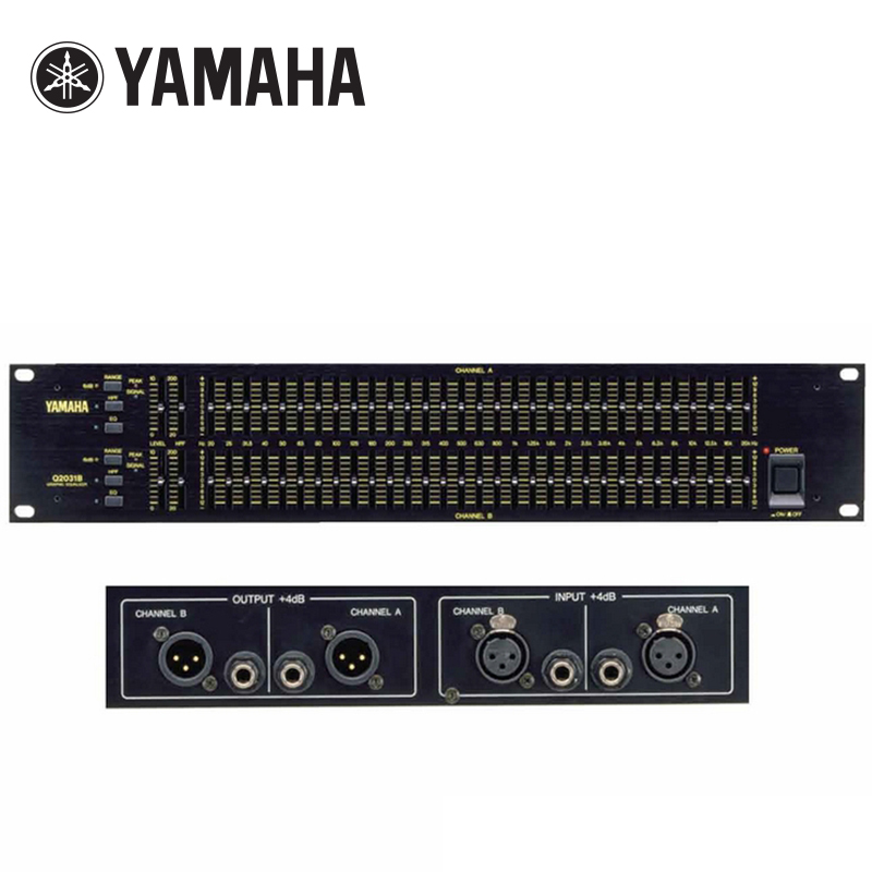 Yamaha/Yamaha Q2031B Equalizer 31 Stage Original Scream Suppression Audio Processor