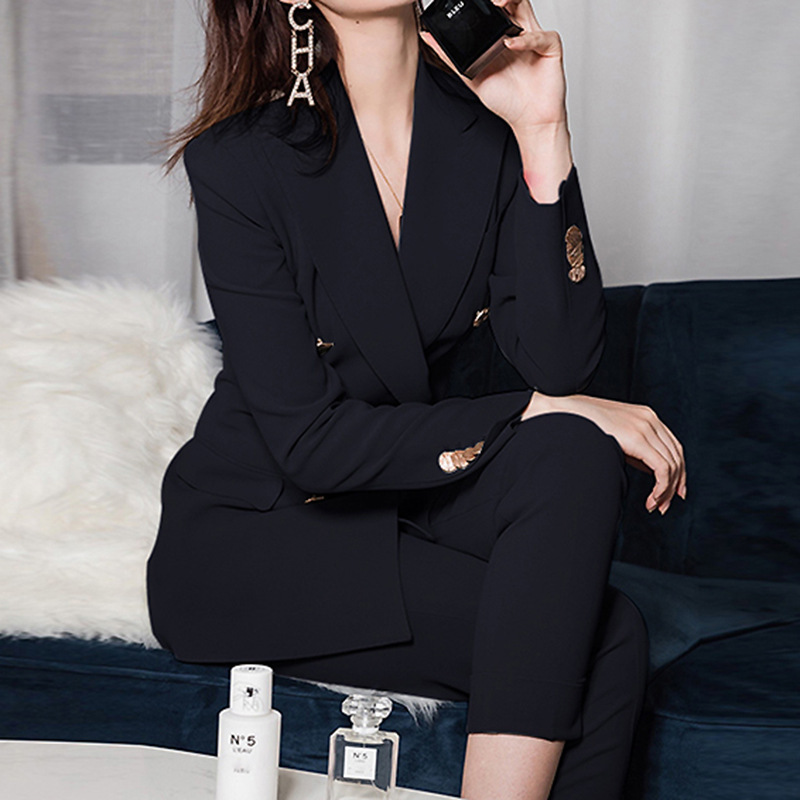 Suit suit women spring and autumn 2021 Korean version of the commute slim figure thin casual high-end professional suit jacket