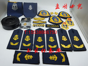 The new traffic law enforcement uniform road traffic sign accessories armbands cap badge badges badges, metal chest collar tie