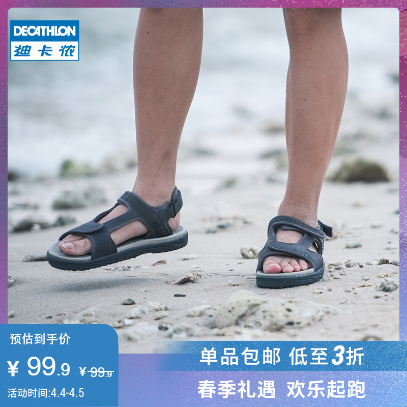 Di Canon Sandals Men's Sandals Outdoor Sandals Summer Beach Shoes Waterfront Shoes Comfortable Anti-skid SBT