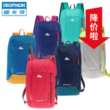 Decathlon shoulder bag, male casual schoolbag, travel mini sports backpack, portable lightweight QUBP