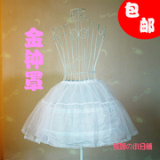 Lolita summer Comiket essential Cosplay steel package plastic deformation expansion fishbone skirt violence -
