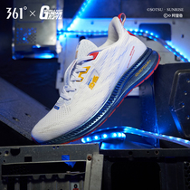 (Up to joint) 361 mens shoes sneakers 2019 new summer mesh breathable shock absorber Q bullet running shoes