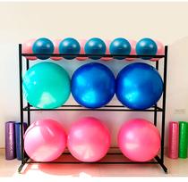 Yoga ball shelf Fitness ball yoga ball multi-layer storage rack Gym yoga room storage rack factory direct sales