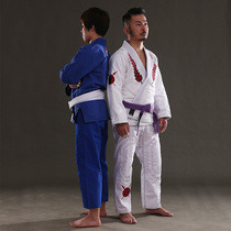 FLUORY authentique Gladiateur Brésilien Jiu - Jitsu taofu judo vêtements tricolore garçons et filles formation BJJ GI
